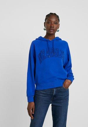 RAGLAN - Jersey con capucha - cobalt blue