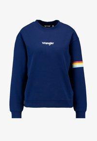 Wrangler - 80S RETRO - Bluza - blue depths - 4