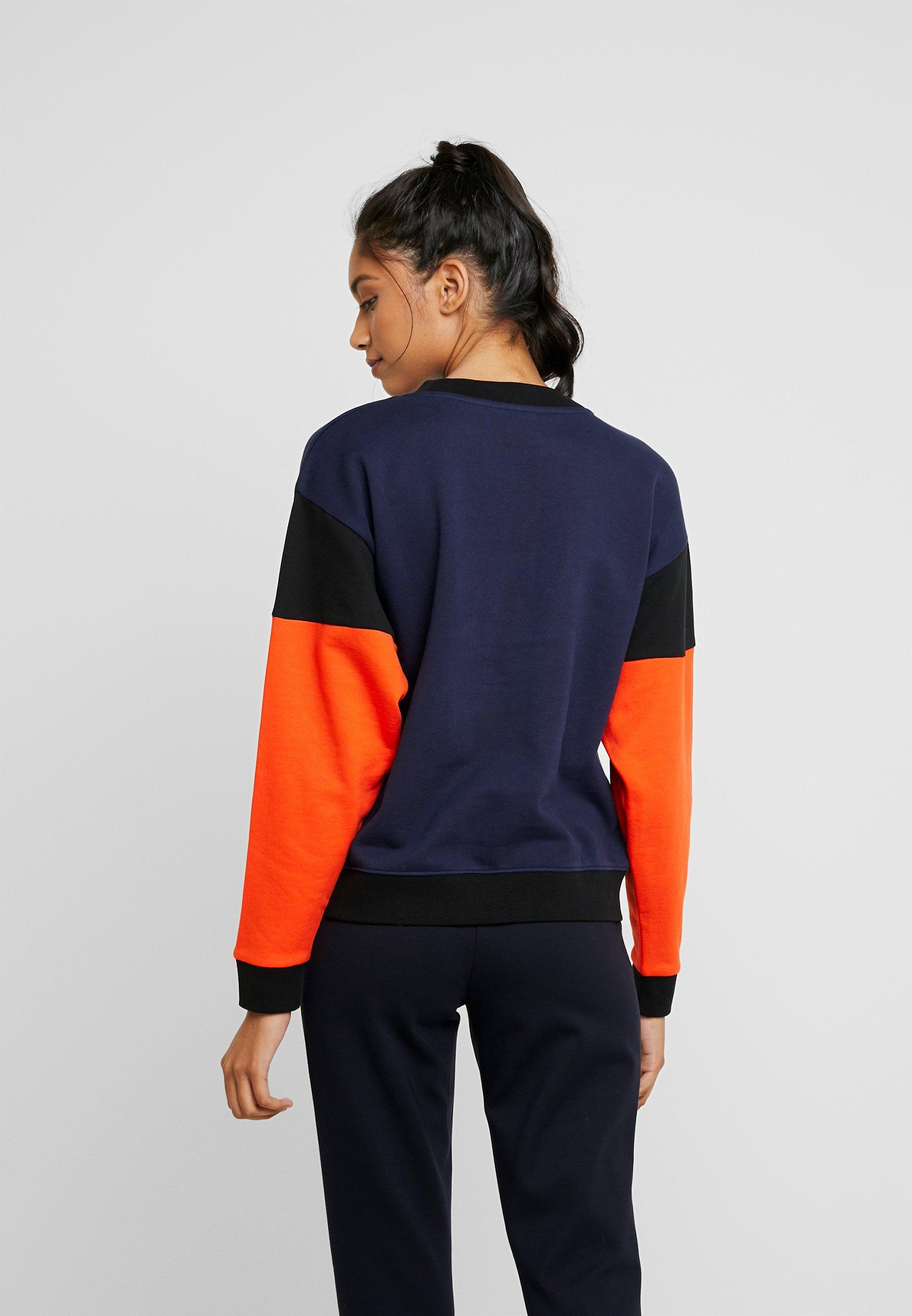 Wrangler HIGH RETRO - Sweatshirt - navy