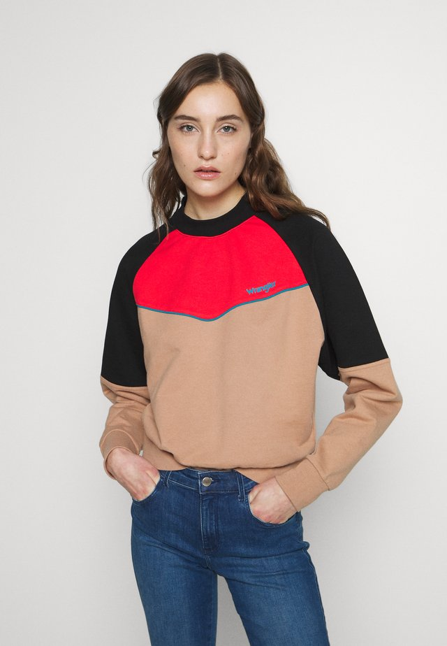 RETRO - Sweatshirt - pyramid sand