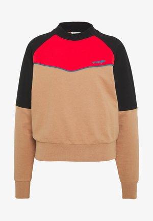 RETRO - Sweater - pyramid sand