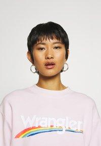 Wrangler - HIGH RETRO - Sweatshirt - lilac ice - 3