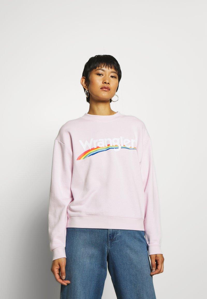 Wrangler - HIGH RETRO - Sweatshirt - lilac ice