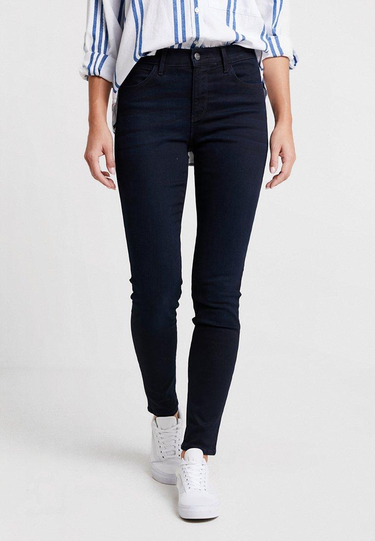 Wrangler - HIGH RISE SKINNY BODY BESPOKE - Jeans Skinny Fit - blueblack