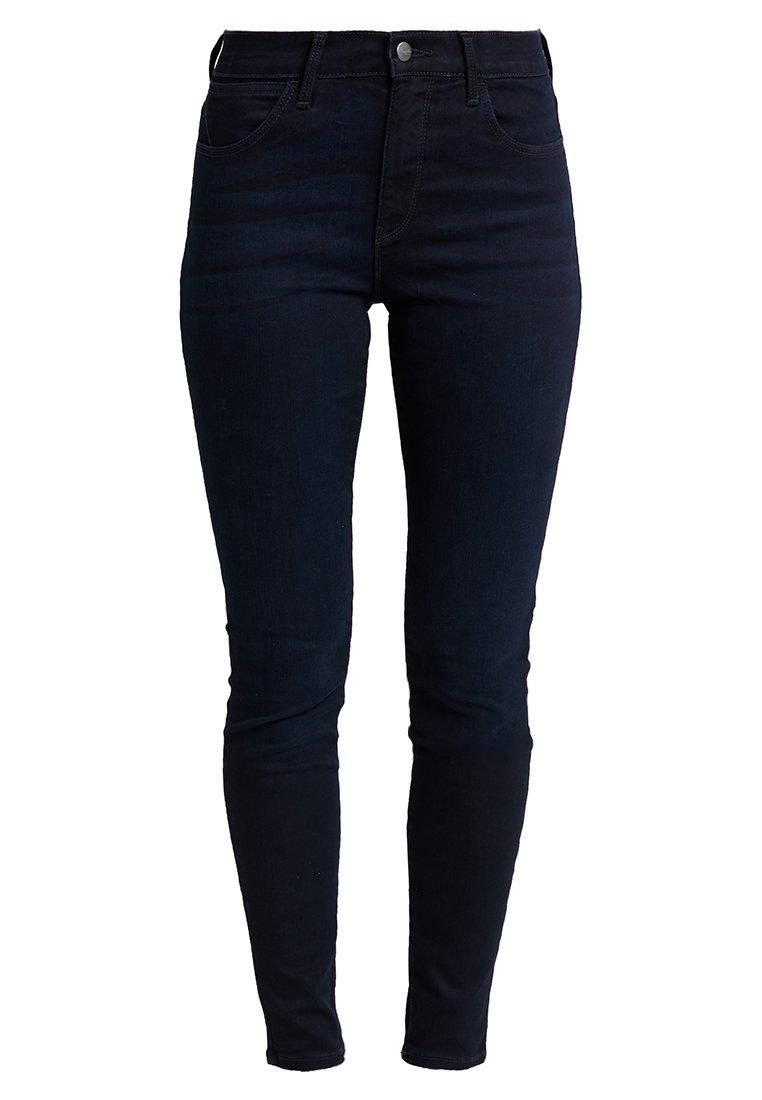 Wrangler HIGH RISE SKINNY BODY BESPOKE - Jeansy Skinny Fit - blueblack