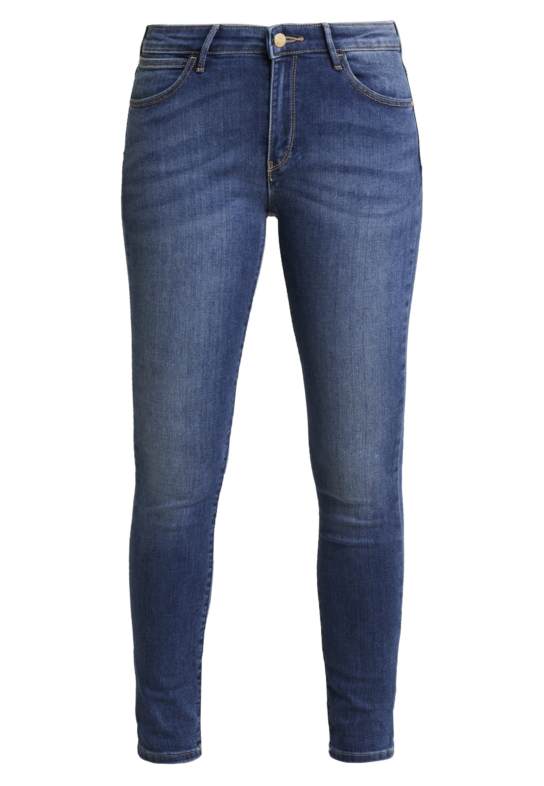 Wrangler BODY BESPOKE - Jeansy Skinny Fit - authentic blue