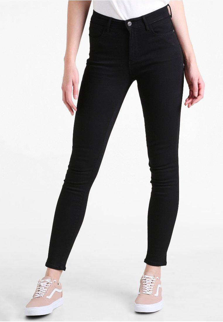 Wrangler - HIGH SKINNY - Jeans Skinny Fit - black
