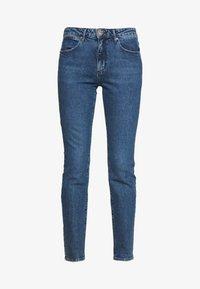 Wrangler - SLIM - Slim fit jeans - blue denim - 4