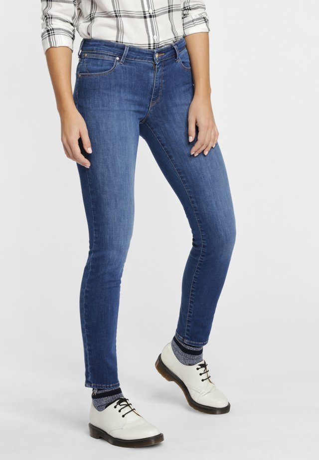 Jeansy Slim Fit - dark blue