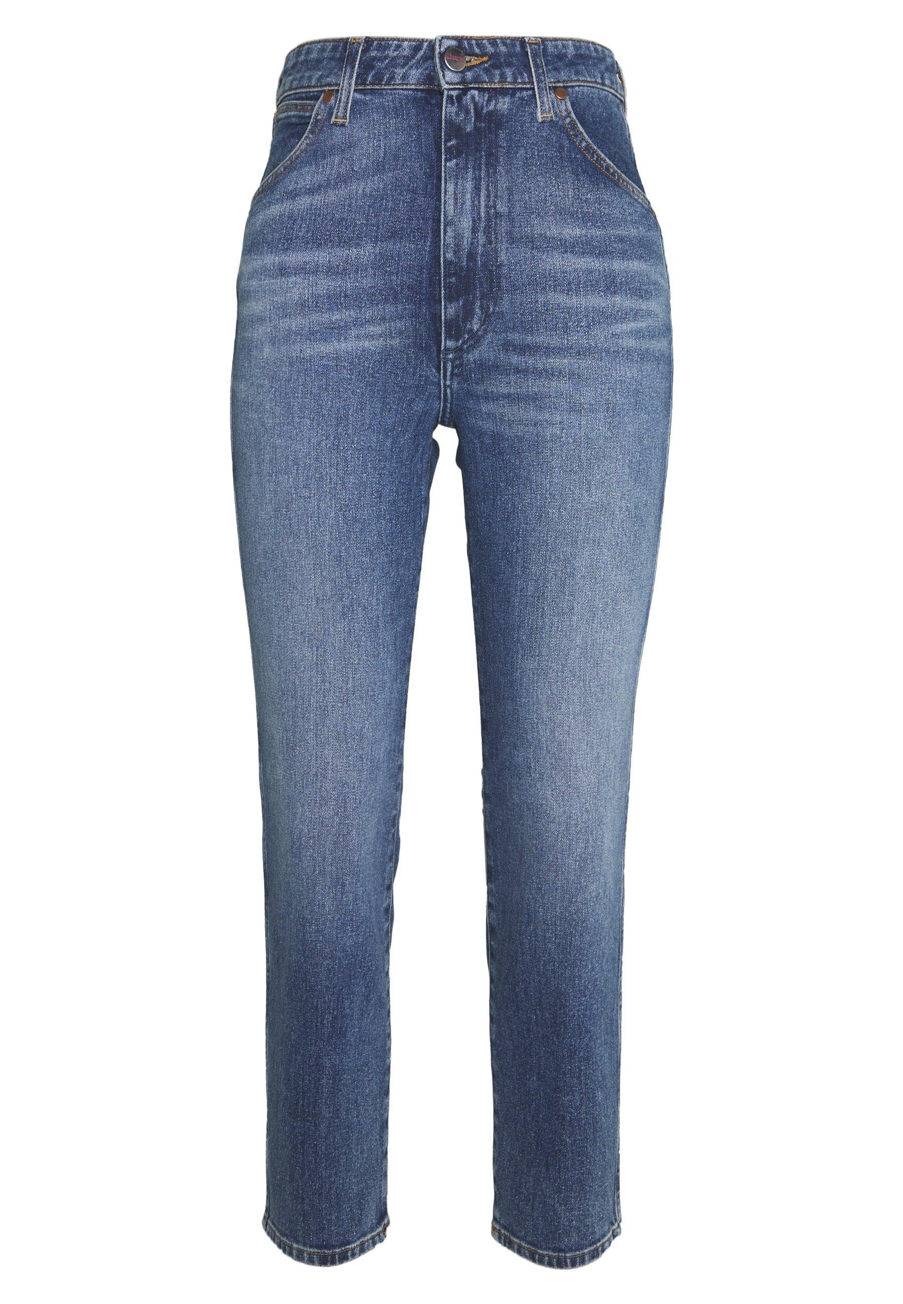 Wrangler Jeansy Slim Fit - blue denim