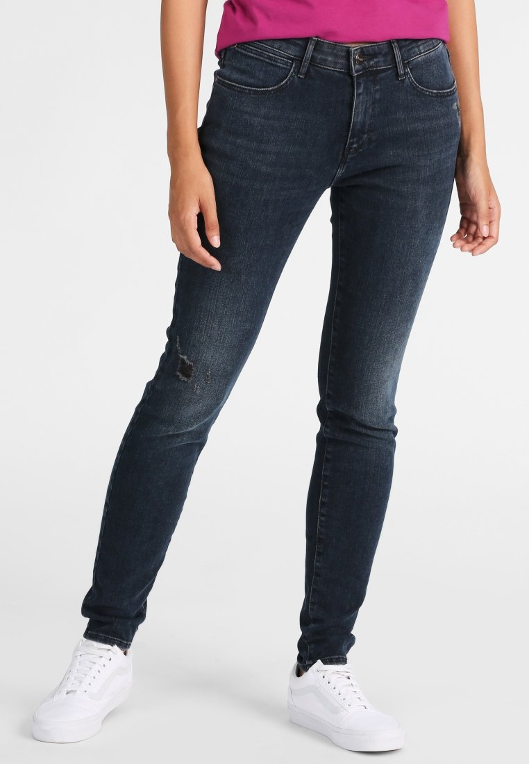 Wrangler - Slim fit jeans - stone blue denim