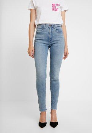HIGH RISE  BODY BESPOKE - Jeans Skinny Fit - grey denim