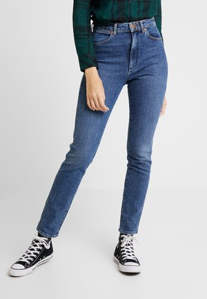 RETRO - Jeans Skinny Fit - blue denim