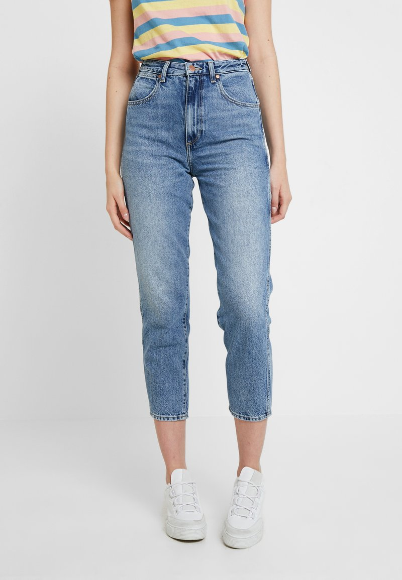 Wrangler - MOM - Jeans Relaxed Fit - ash cloud