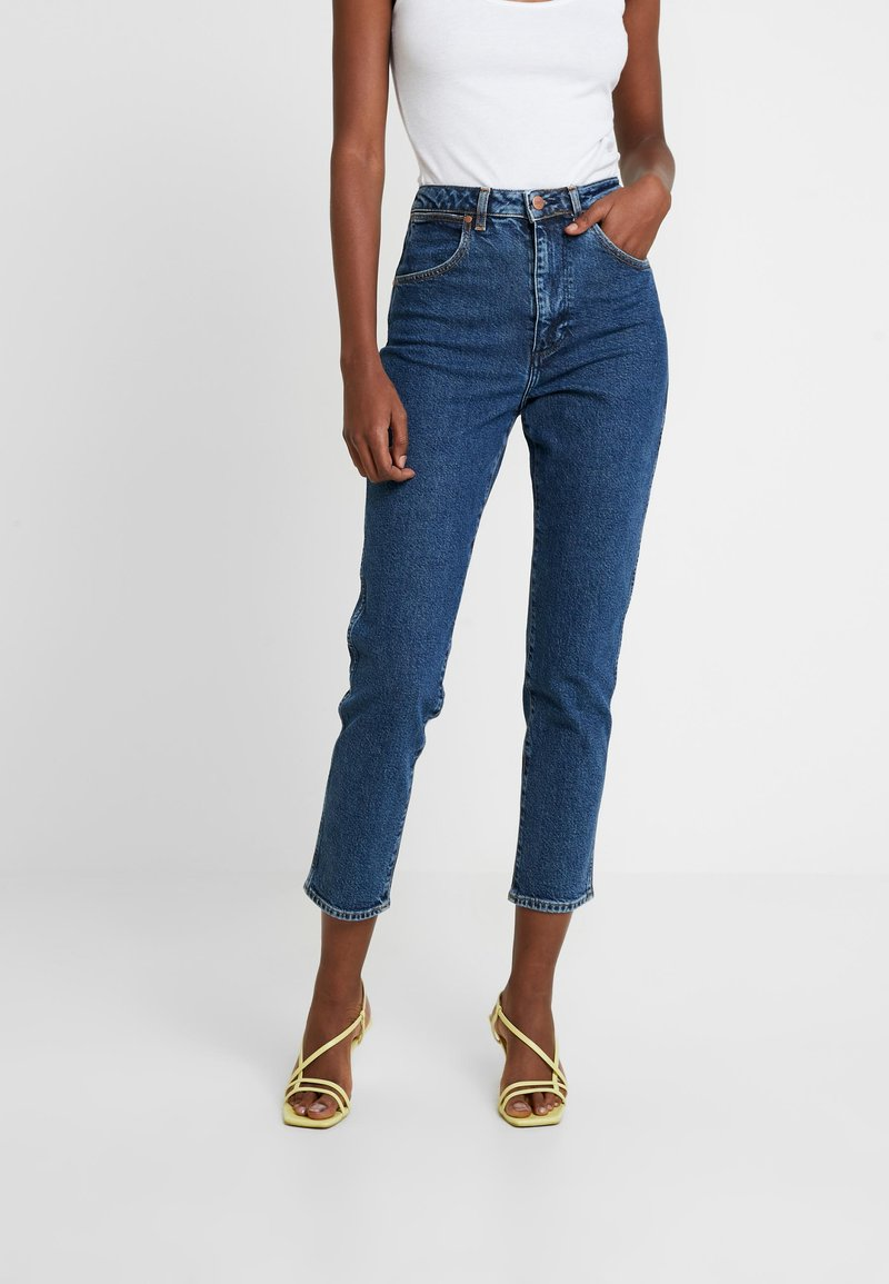 Wrangler - MOM - Relaxed fit jeans - noise