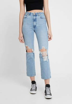 RETRO - Jeansy Straight Leg - blue hawaii