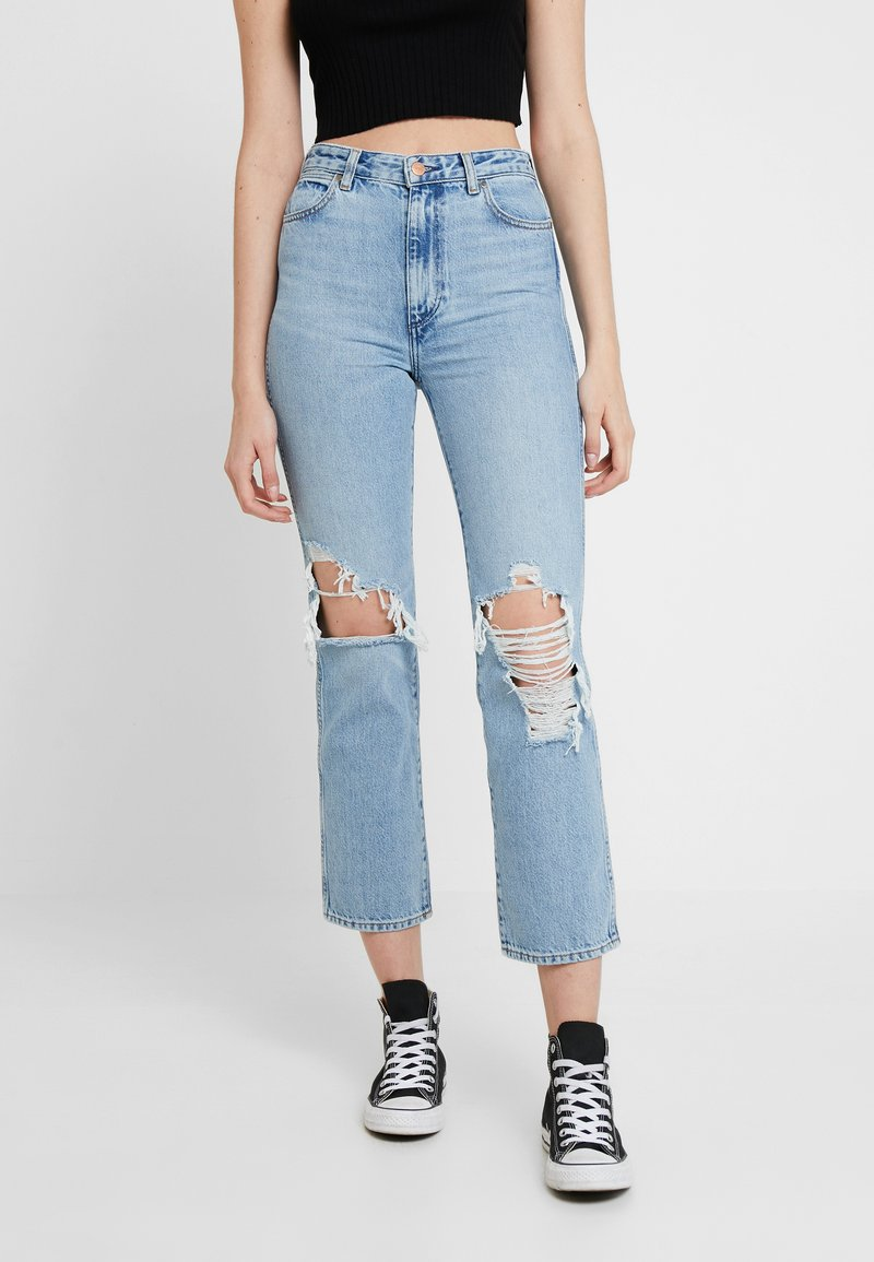 Wrangler - RETRO - Straight leg jeans - blue hawaii