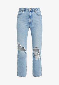 Wrangler - RETRO - Straight leg jeans - blue hawaii - 4