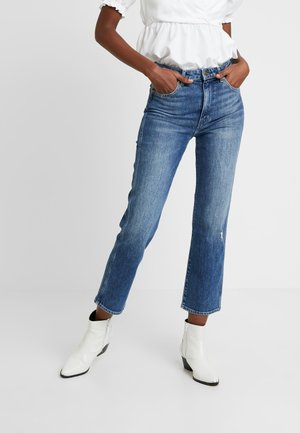 RETRO - Jeans Straight Leg - dark blue noise