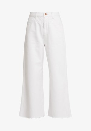 WESTERN CULOTTE - Flared Jeans - vintage white