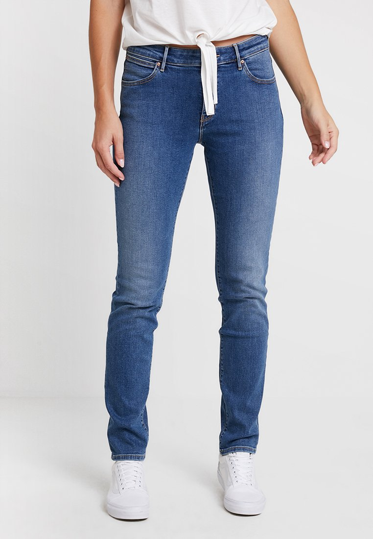 Wrangler - Slim fit jeans - perfect blue