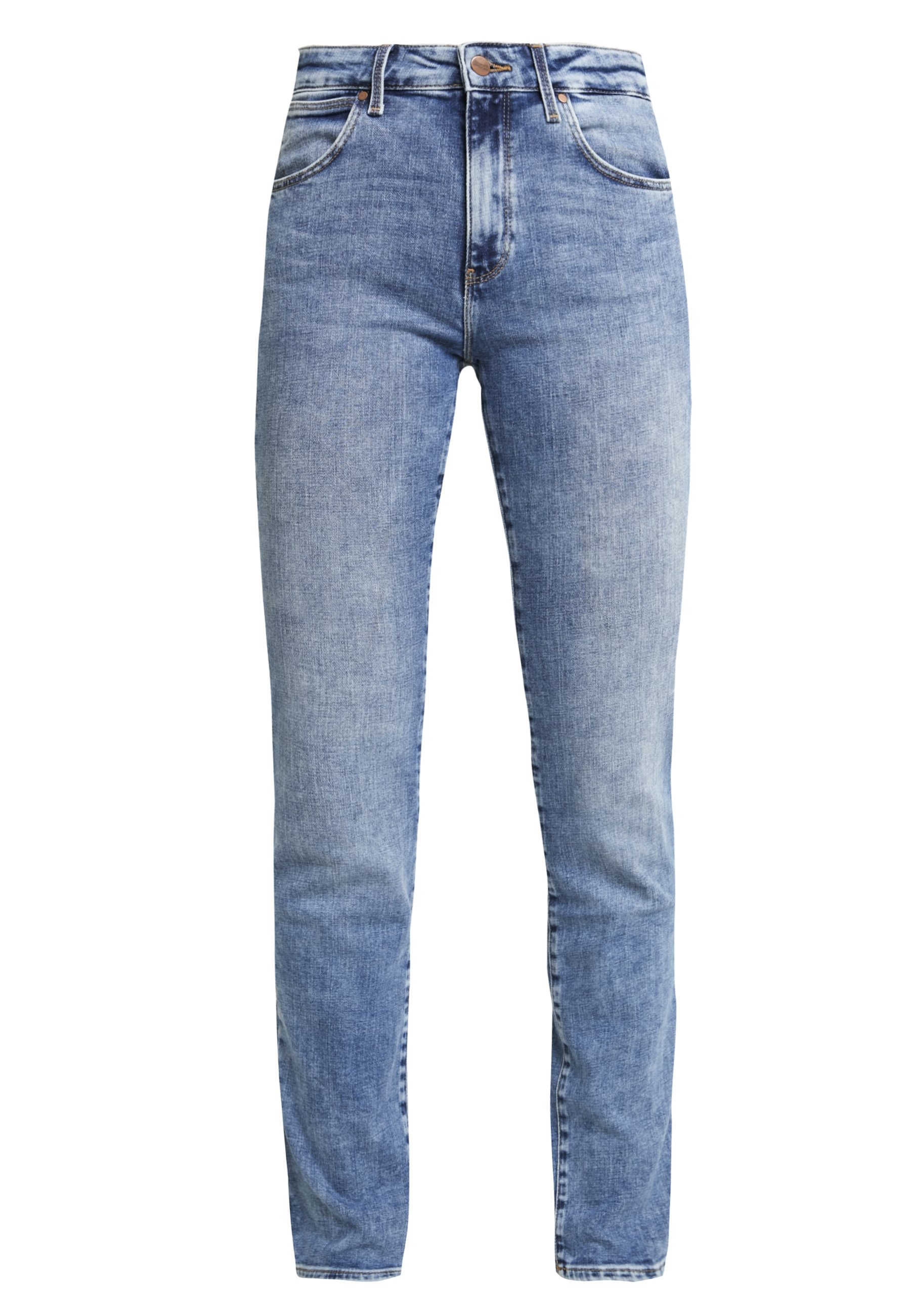 Wrangler Body Bespoke - Straight Leg -farkut Water Blue