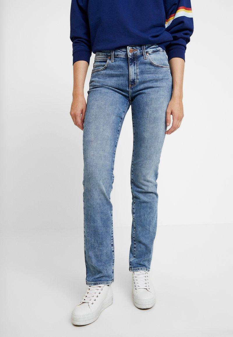 Wrangler - BODY BESPOKE - Straight leg jeans - water blue