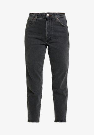 WOMEN WESTERN ZIPPER - Slim fit jeans - black