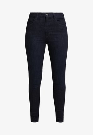 HIGH RISE - Jeans Skinny Fit - blue black
