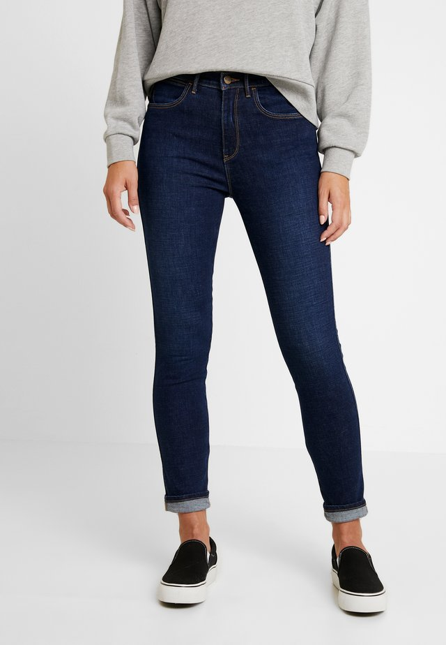 HIGH RISE - Jeansy Skinny Fit - night blue