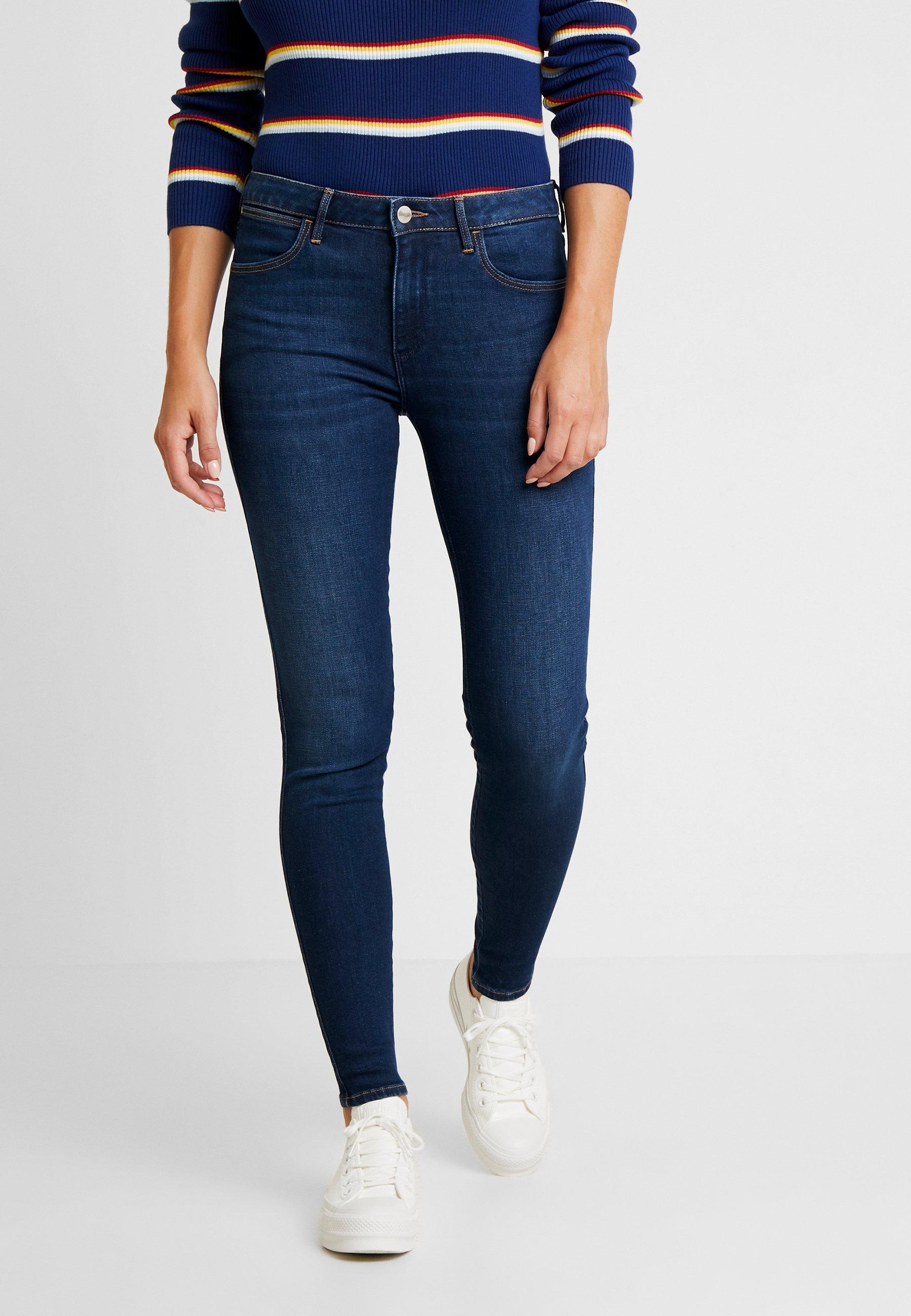 Wrangler Jeans Skinny Fit dark indigo
