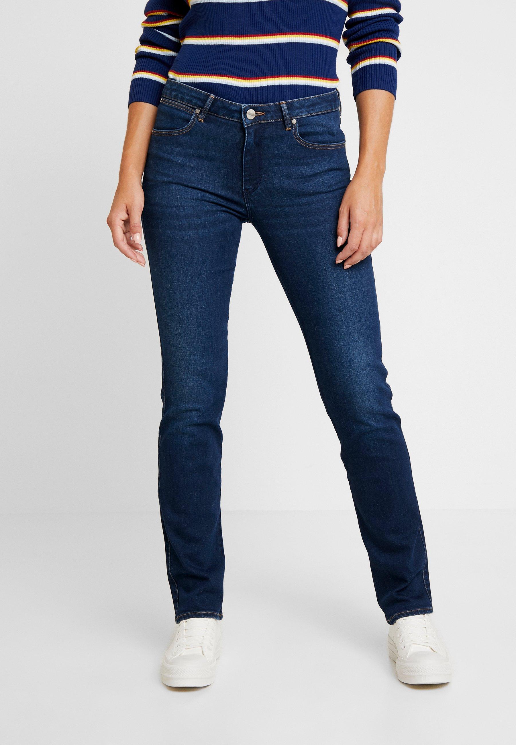 Jeans Dark Wrangler A Sigaretta Indigo SqVUzMp