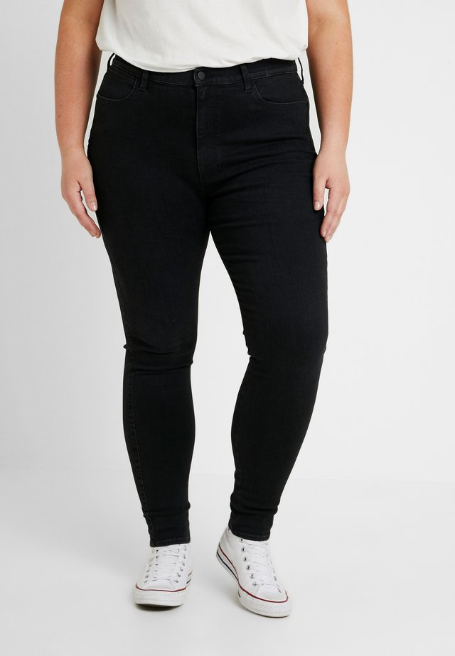 PLUS - Jeansy Skinny Fit - anthracite