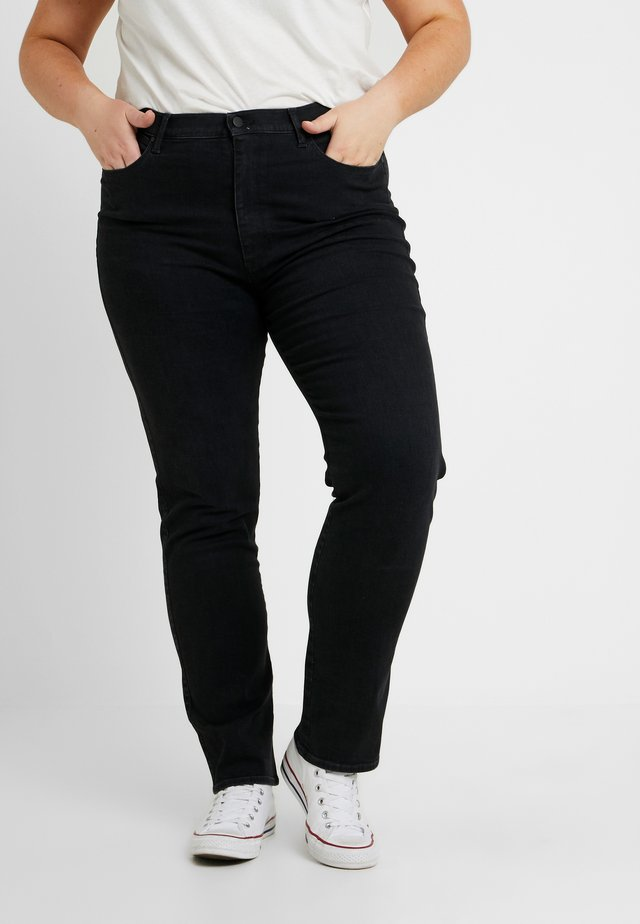 PLUS - Jeansy Straight Leg - anthracite