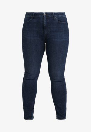 PLUS - Straight leg jeans - stretch dark
