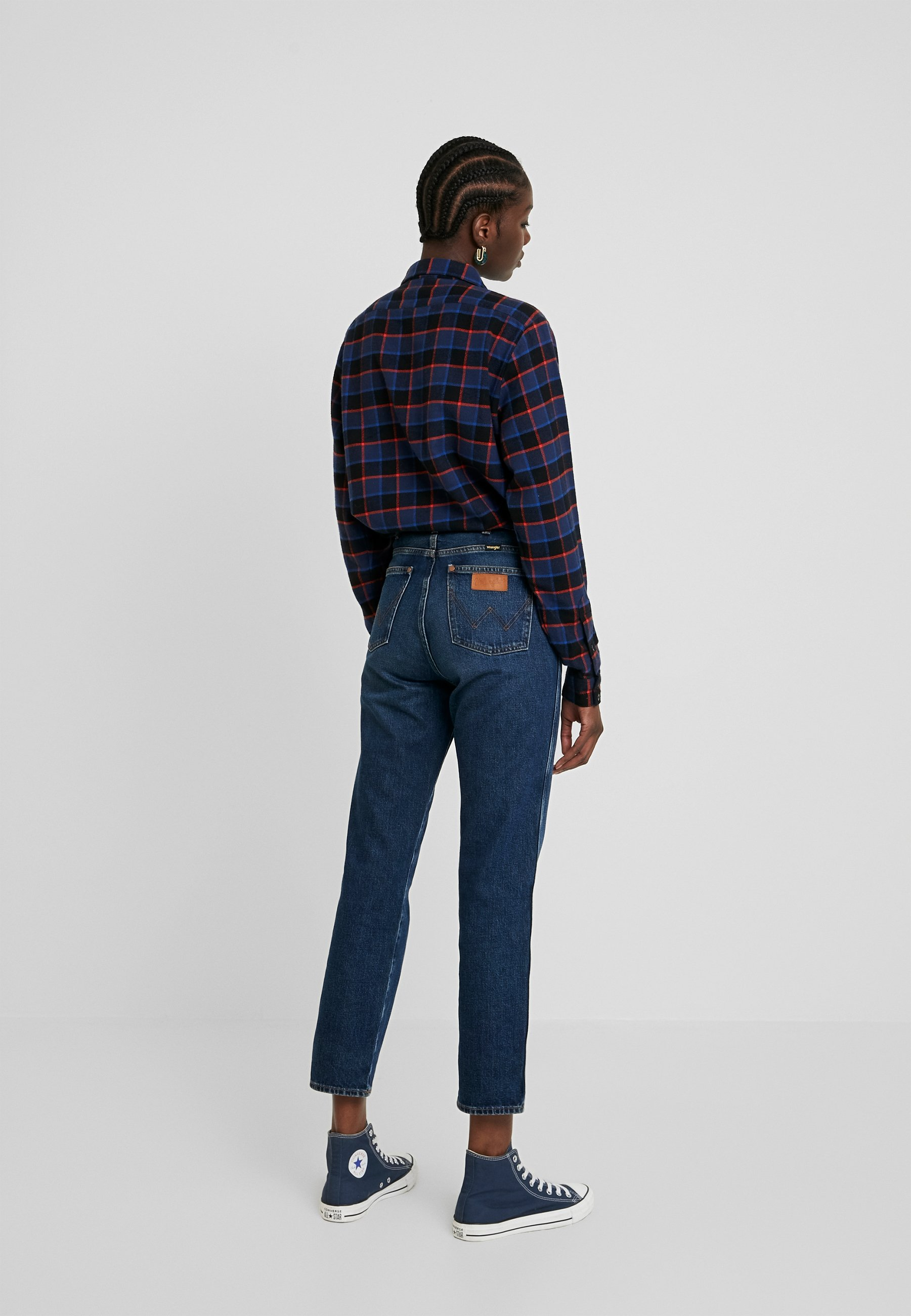 Wrangler THE RETRO - Jeansy Relaxed Fit - authentic dark