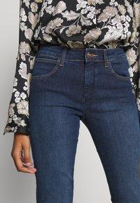 Wrangler - Jeans Skinny Fit - true dark - 5