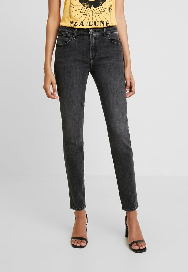 Jeansy Skinny Fit - soft black
