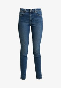 Wrangler - HIGH RISE - Jeans Skinny Fit - used tint - 3