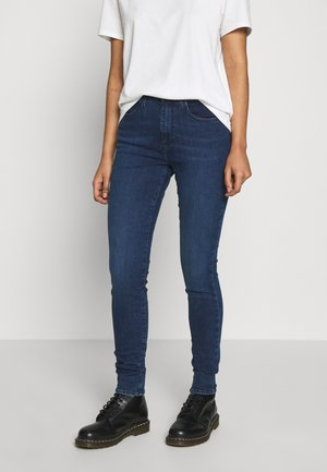 HIGH RISE - Jeans Skinny Fit - noble blue
