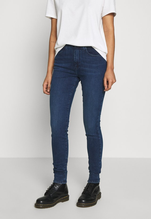 HIGH RISE - Jeansy Skinny Fit - noble blue
