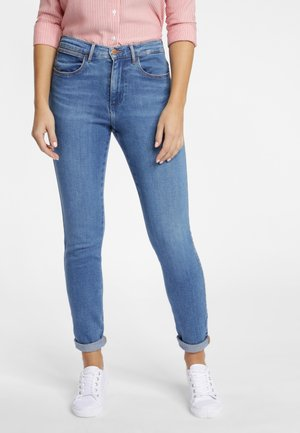 HIGH RISE - Jeansy Skinny Fit - pool blue