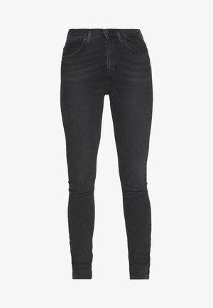 HIGH RISE - Jeans Skinny - black sea