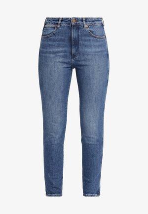 RETRO - Jeansy Slim Fit - blue