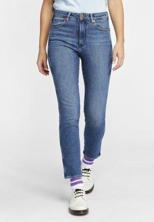 RETRO - Slim fit jeans - blue