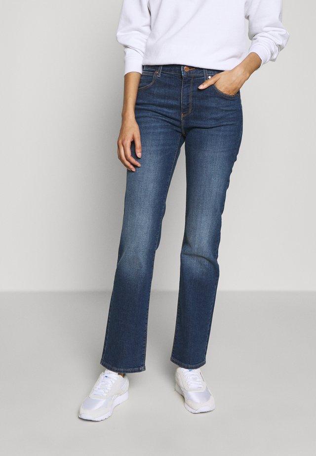 Jeansy Straight Leg - pixi blue