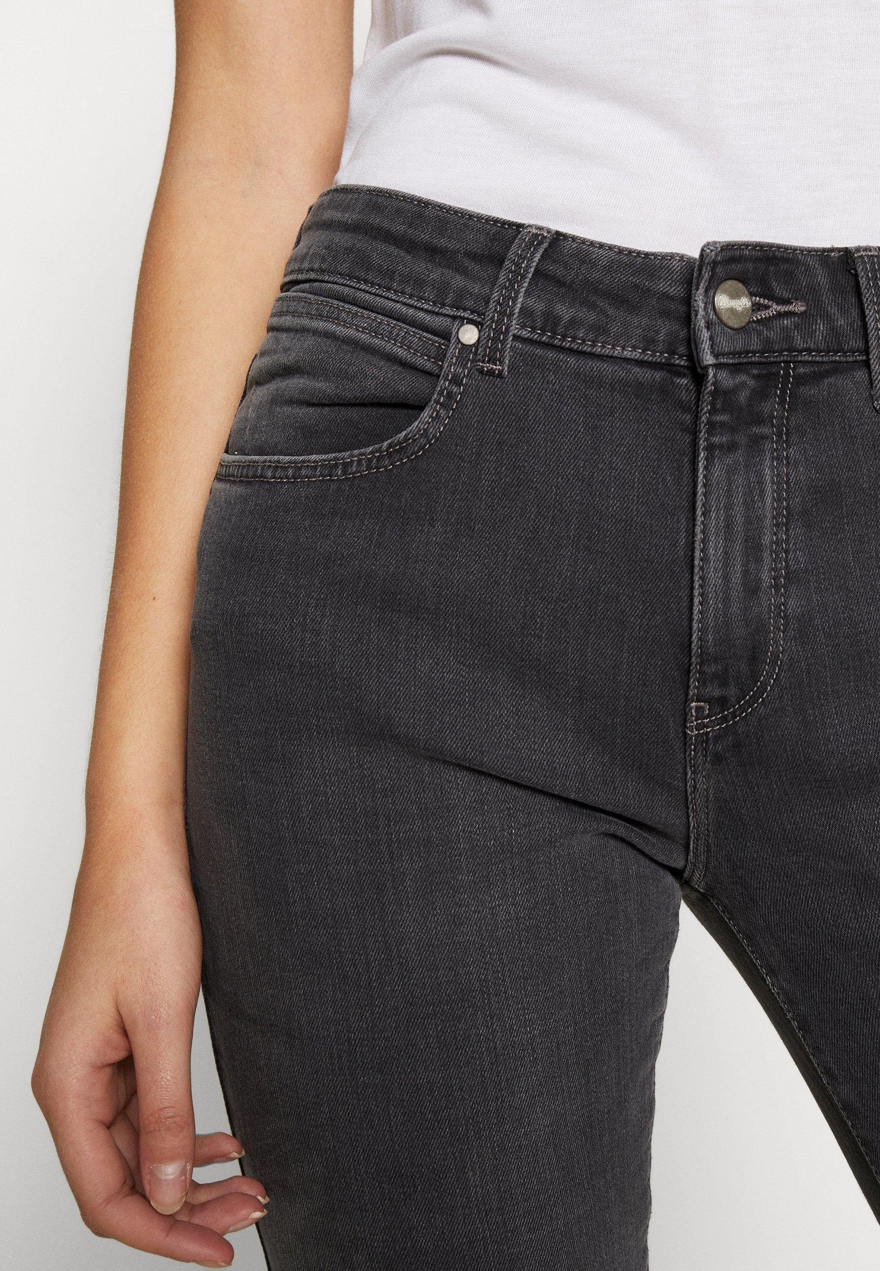 Wrangler Jeansy Straight Leg - greytime