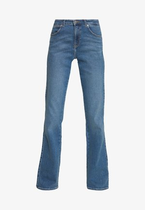 Jeans bootcut - canary blue