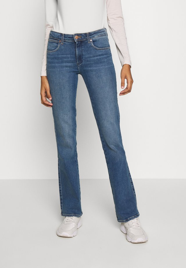 Jeansy Bootcut - blue denim