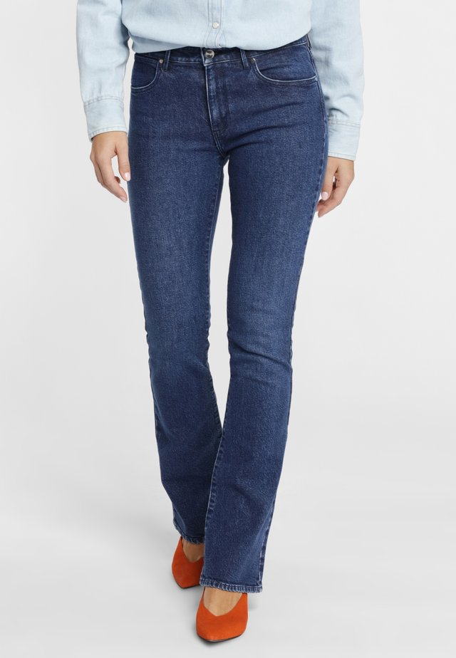 Jeansy Bootcut - dark blue